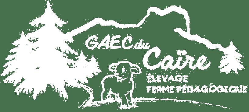 Logo Elevage et Vente Agneau Ferme pédagogique Gaec du Caire Chaillolet St Michel de Chaillol Champsaur Valgaudemar Hautes Alpes
