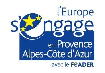 L'Europe S'engage en PACA avec FEADER Vente Agneau Ferme pédagogique Gaec du Caire Chaillolet St Michel de Chaillol Champsaur Valgaudemar Hautes Alpes
